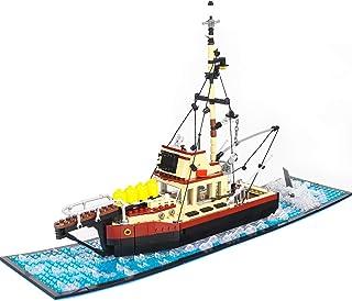 The Orca Jaws Ship Building Kit ,Building Set MOC Blocks Bricks Models Toys for Friends Festival Birthday (1235 PCS)
