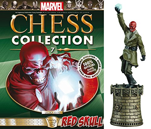 Eaglemoss Marvel Chess Figurine Collection Nº 7 Red Skull