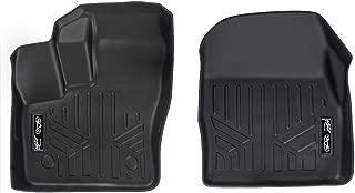 MAXLINER Floor Mats 1st Row Liner Set Black for 2014-2018 Transit Connect with Carpet Flooring (Short and Long Wheelbase)