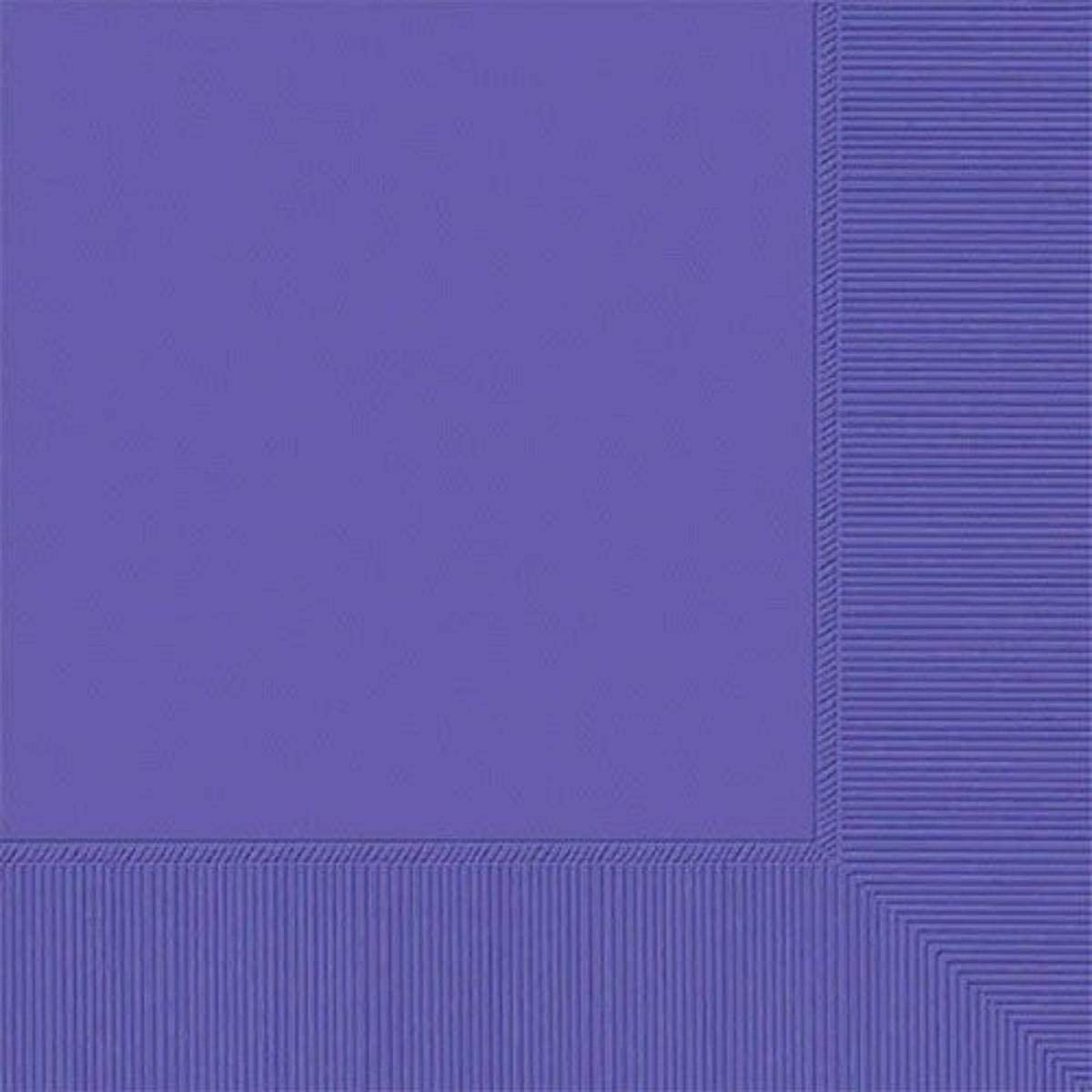 amscan 2-Ply New Purple Luncheon Napkins, 50 Ct. | Party Tableware