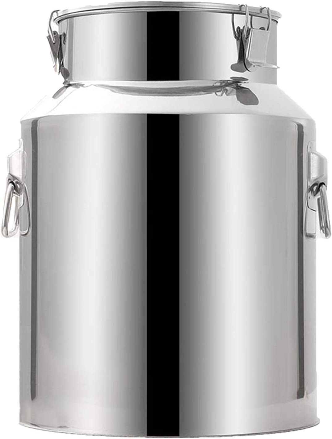 Airtight Bucket Food Canisters Milk Can Steel Container Seasonal Wrap Be super welcome Introduction Stai Jug