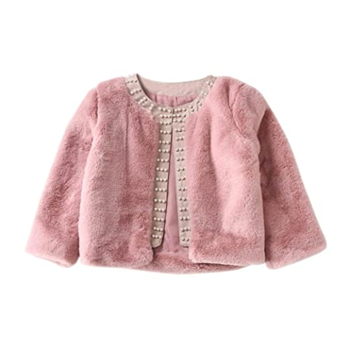 d2eb0ab1700 HOMEBABY Kids Baby Girls Winter Faux Fur Coat