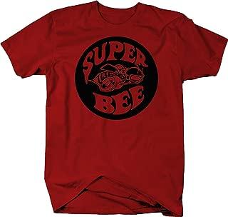 Super Bee Racing Charger Challenger Ram Racing Dodge Color T Shirt for Men