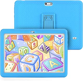 Tagital T10K Kids Tablet 10.1 inch Display, Kids Mode Pre-Installed, with WiFi, Bluetooth and Games, Quad Core Processor, 1280x800 IPS HD Display (Blue)