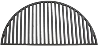 only fire Barbecue Semicircular Cast Iron Cooking Grate Fits for Large Big Green Egg,Kamado Joe Classic,Pit BossK22,Louisiana K22,Large Grill Dome,and Other Kamado Grill