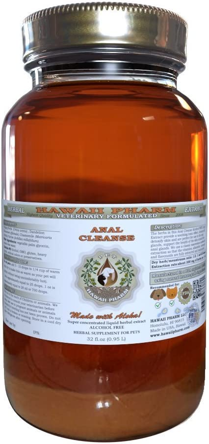 Anal Cleanse VETERINARY Natural Extract Pe Alcohol-FREE Liquid Max 68% OFFicial store OFF