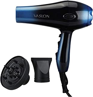 1875W Infrared Professional Hair Dryer,Negative Ionic Blow Dryer for Fast Drying,AC Motor Light Weight Hair Blow Dryer with Diffuser & Concentrator,2 Speed and 3 Heat Setting