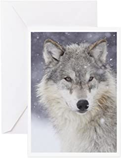 CafePress Snow Bound Greeting Card, Note Card, Birthday Card, Blank Inside Matte