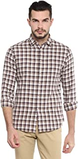 Celio Men's Checkered Regular fit Casual Shirt