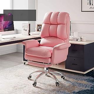 Chaise de jeu MHIBAX Chaise d'ordinateur à domicile, chaise de bureau, chaise de patron confortable, chaise de conférence