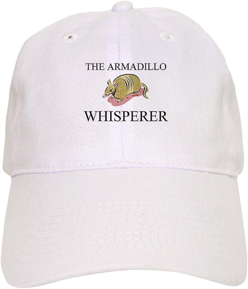 CafePress The Armadillo Whisperer Baseball Cap