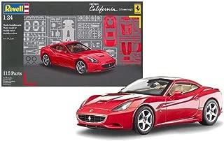 Outletdelocio. Revell 07191. Maqueta Coche Ferrari California. Kit de Montaje. 115 Piezas. Escala 1/24