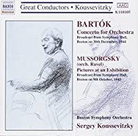 Bart?k : Concerto for Orchestra / Mussorgsky-Ravel: Pictures At An Exhibition (2006-08-01)