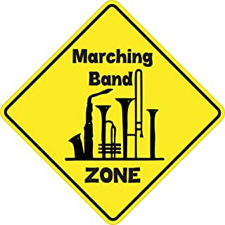 StickerTalk Marching Band Zone Vinyl Sticker, 5 inches by 5 inches