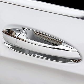 BANIKOP 8 Pcs//Set Gauche ABS c/ôt/é conducteur Couvre poign/ée de Porte lat/érale chrom/ée pour Mercedes-Benz B//C//E//GLK//ML//CLA W246 W204 W212 X204 W166 W117