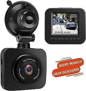 AWESAFE Cámara de Coche Dash CAM 1080P Full HD 170 Ángulo con WDR G-Sensor Detección de Movimiento Grabación en Bucle Visión Nocturna Monitor de Aparcamiento