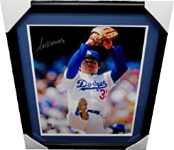 Fernando Valenzuela Signed Autographed 16X20 Photo Dodgers Eyes Up MLB Framed