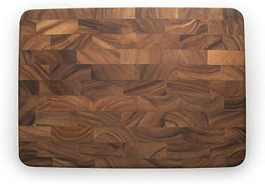 Ironwood Charleston End Grain Prep Station Wooden Cutting Board, Brown, IW28217
