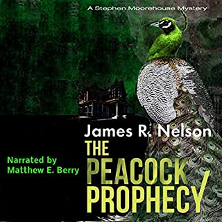The Peacock Prophecy audiobook cover art