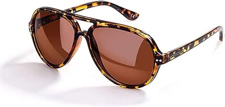 Retro Polarized Sunglasses, Lightweight Mirrored Lens Fashion Goggle Eyewear
