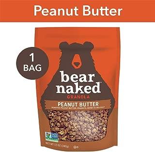 Bear Naked Peanut Butter Granola - Non-GMO, Kosher Dairy, Vegetarian Friendly - 12 Oz