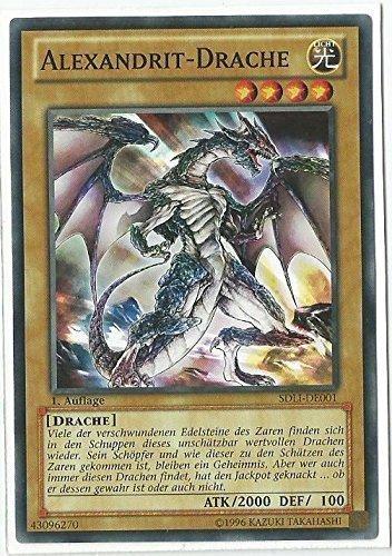 Yu-Gi-Oh! Karten Alexandrit-Drache SDLI-DE001