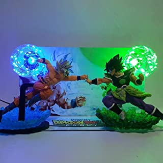 22cm (8.7 inch) - Dragon Ball Super Broly VS Goku Ultra Instinct Led Light Toy Action Figure
