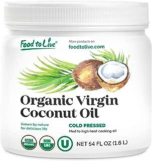 Best virgin coconut oil expeller pressed Reviews