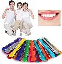 Bilinli Medidor de reducci/ón interproximal Dental Regla de medici/ón de la Brecha del Diente de ortodoncia IPR
