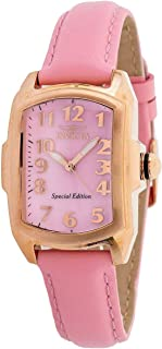 Invicta Lupah Quartz Pink Dial Ladies Watch 32817
