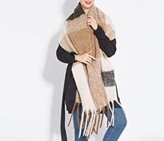 Cherryi Women shawl scarf autumn winter generous sjaals The brand new fashion acrylic pure coffee