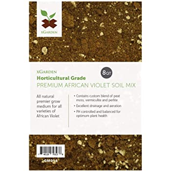 8 Quarts xGarden African Violet Potting Soil Mix