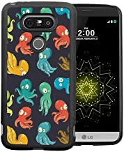 Case for LG G5 (2016) Octopus Octopus Cartoon Drawing Style Funny Characters from Ocean Underwater Life Image Multicolor