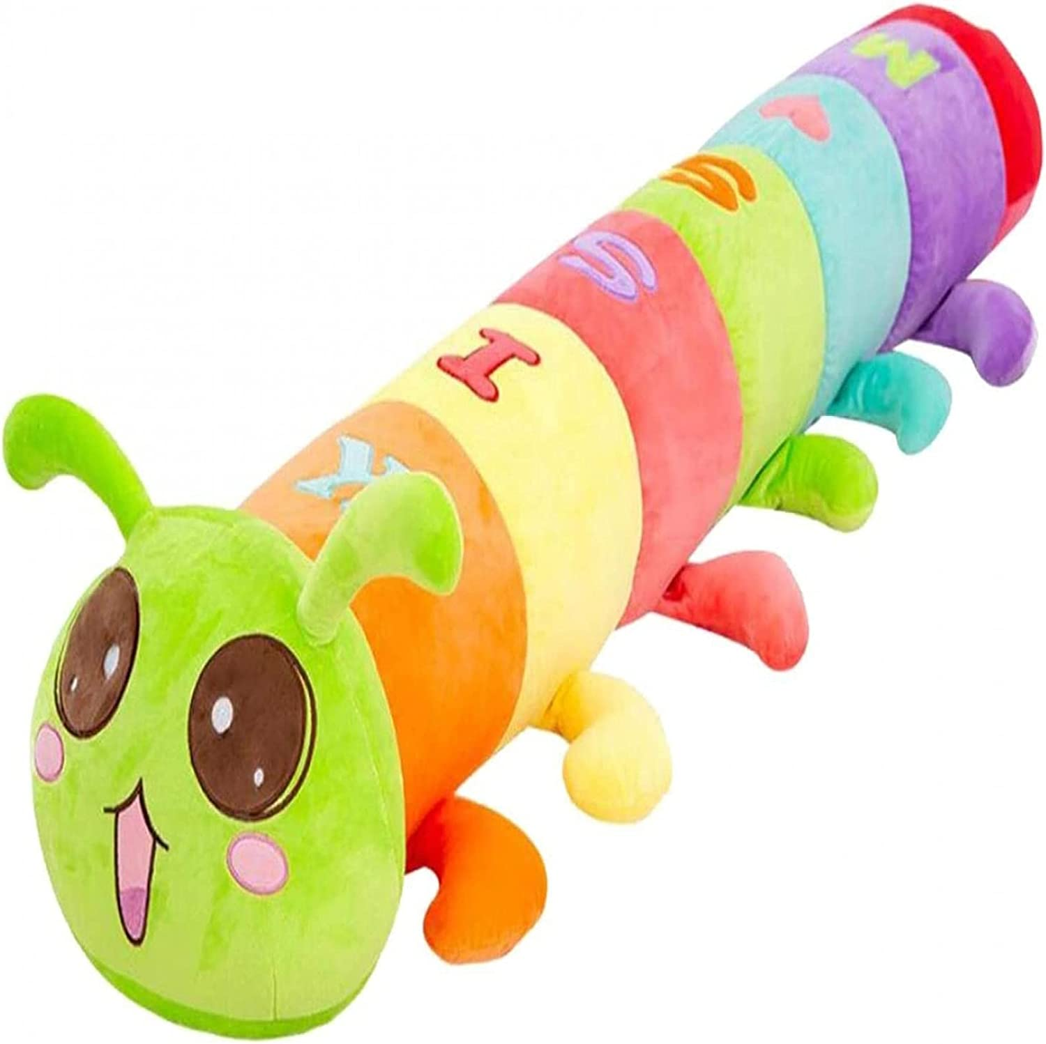 Plush All items free shipping Toys Clearance SALE! Limited time! Cute Caterpillar Stuffing Comfortable Shape