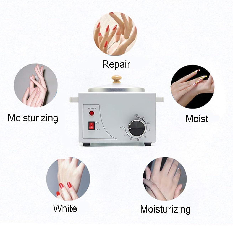 背が高い救い情熱的携帯用電気ホットワックスウォーマーマシン可変温度での脱毛、プロフェッショナルシングルポット電気ワックスウォーマーマシンの