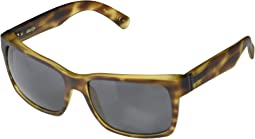 Tortoise Satin Wildlife Vintage Grey Polarized