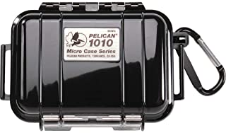 Pelican Waterproof Case 1010 Micro Case - for GoPro, camera, and more (Black)