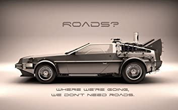 bribase shop Back to The Future 1 2 3 Poster 40 inch x 24 inch / 21 inch x 13 inch