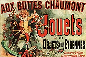Pyramid America Aux Buttes Chaumont Jouets Jules Cheret Cool Wall Decor Art Print Poster 36x24
