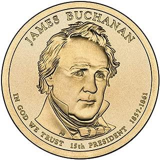 buchanan dollar coin