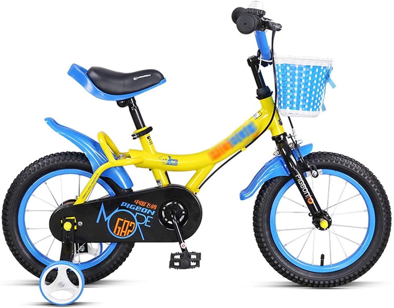 Kinderfahrrder Fahrrder Frühling Sommer Reisen Geeignet Garten Im Freien Mdchen Junge üben Mit Fahrrad 312 Jahre Alt   18 Zoll   (Farbe   Blau, Größe   18inch)
