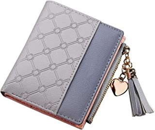 Wiwsi Women zipper walletscoin pocket cash purse credit card holder mini wallets