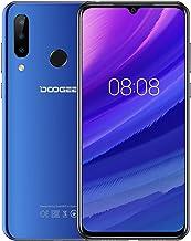 DOOGEE N20 2019 Smartphone Libre 4G, Android 9.0 Telefonos Moviles Libres Dual Sim Octa Core 4GB RAM+64GB ROM, 6.3 Pulgadas FHD+,Cámara 16MP+8MP+8MP+16MP, 4350mAh Face ID+Huella Digital, Azul