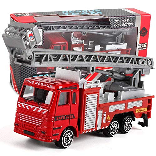 Ibely Engineering Toy Mining Car Truck Children's Birthday Gift Fire Rescue