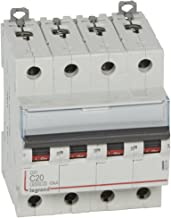 Legrand LEG406776 Disjoncteur dnx 4500 Vis//Vis U+N 230 V 25 A 4,5 kA Courbe C 1 m