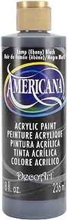 DecoArt DA067-9 Americana Acrlics, 8-Ounce, Lamp (Ebony) Black
