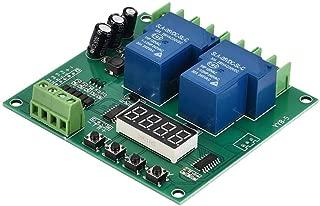 Motor Control Board, YYB-5 12V 24V Two-Way Relay Motor Forward/Reverse Control Board Two Relay Delay Timing Cycle Module