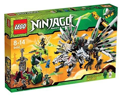 Lego 9450 - Ninjago: Rückkehr des vierköpfigen Drachens