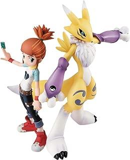 Megahouse Digimon Tamers GEM Series Renamon & Ruki PVC Figure