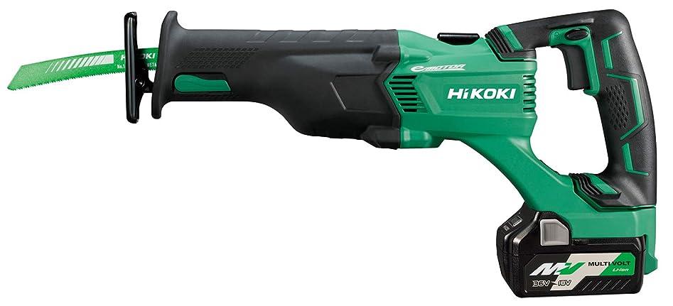 不名誉なグラマー誘導HiKOKI(ハイコーキ) 旧日立工機 コードレスセーバソー マルチボルトシリーズ CR18DBL(LXPK) 急速充電器?ケース付